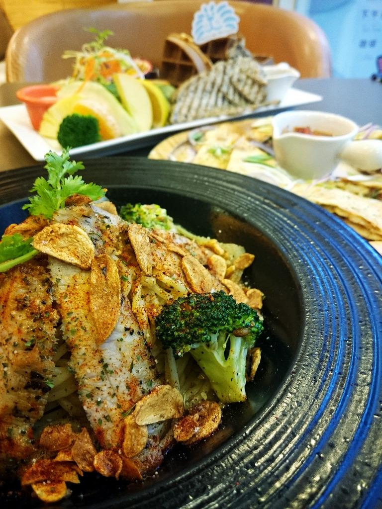 【高雄食記】蕃茄獅王子鬆餅專賣~咖啡店.早午餐