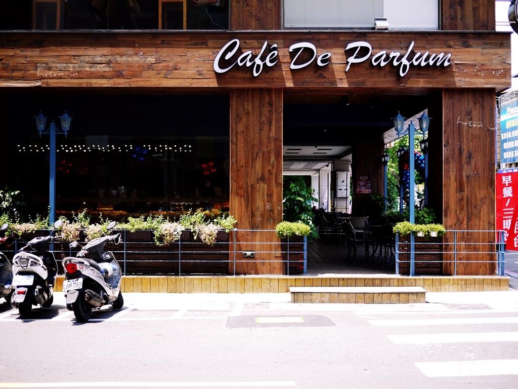 【高雄食記】達頂咖啡Cafe De Parfum~適合安靜看一本書的平價咖啡店.早午餐.下午茶