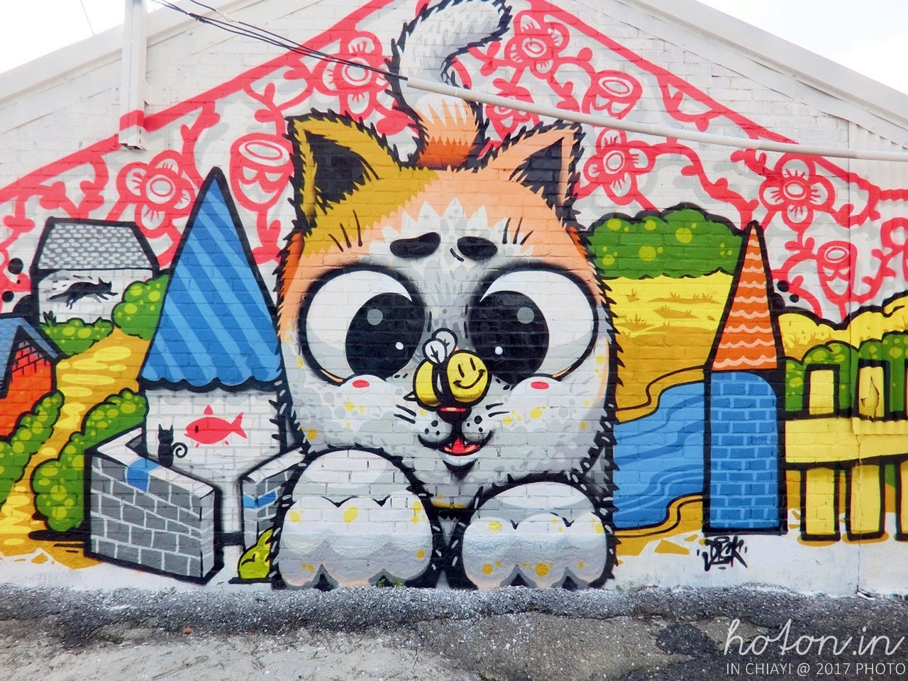 【嘉義旅遊】民雄 / 菁埔社區貓世界.嘉義最可愛的貓咪彩繪村
