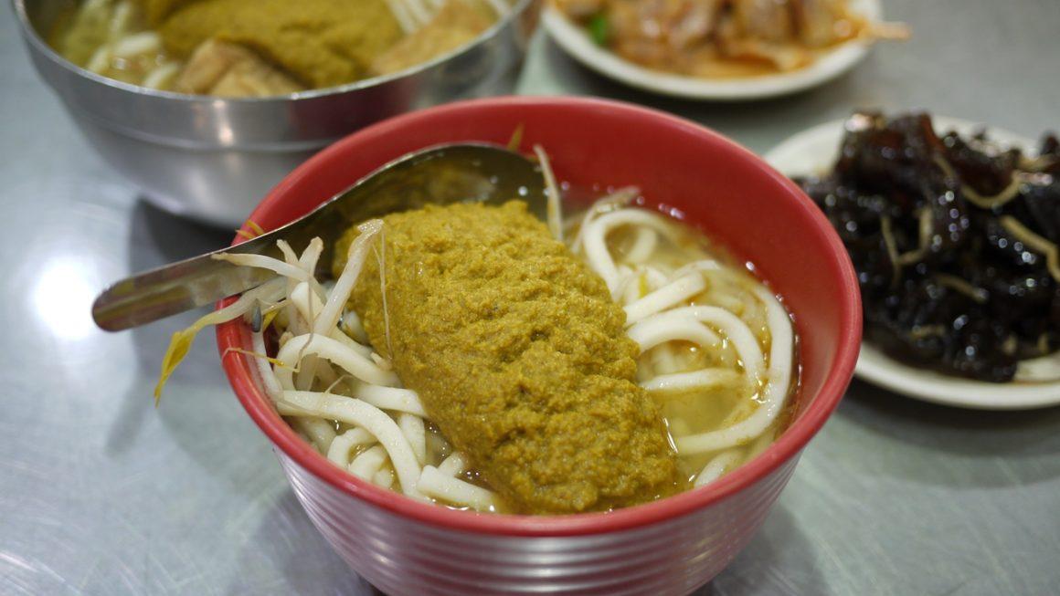 【基隆食記】七堵咖哩麵.七堵市場飄香60年的湯咖哩,遊子與學子難忘的好滋味