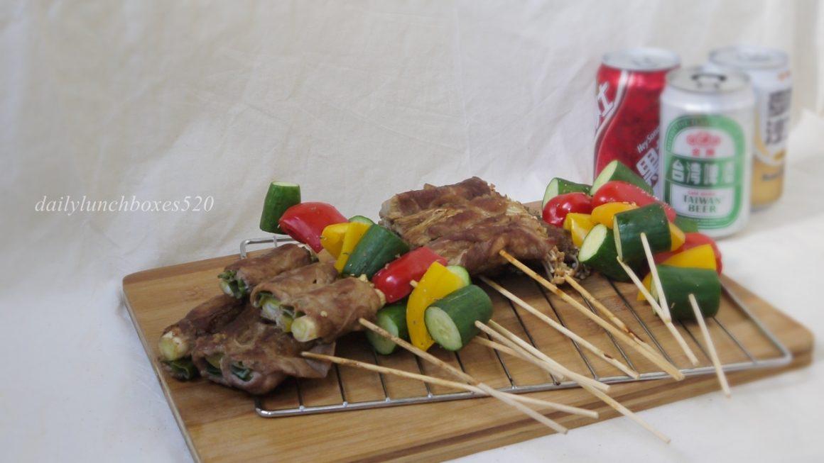 照燒豬肉捲食譜:中秋節的烤箱料理,用香草豬Herb Pork吃天然香草的豬肉片來做烤肉捲吧!